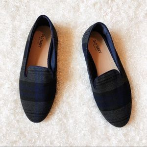 Old Navy Plaid Flats Size 6
